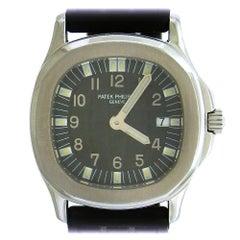 Patek Philippe Stainless Steel Aquanaut quartz wristwatch Ref 4960