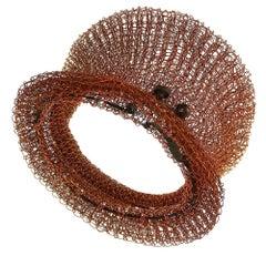 Arline Fisch, Crocheted Cuff Bracelet