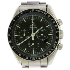 Omega Stainless Steel NASA Certified Speedmaster Professional Manual Wristwatch
