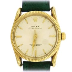 Rolex yellow gold Oyster Perpetual Bombay self-winding Wristwatch, 1960s