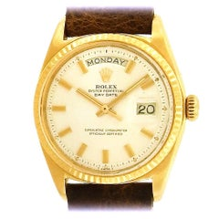 Rolex Yellow Gold Vintage Day-Date self-winding wristwatch Ref. 1803