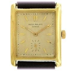 Patek Philippe Yellow Gold manual Wristwatch Ref 2530, circa 1950s