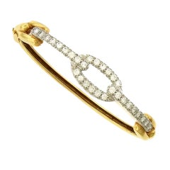 David Webb Diamond Bangle Bracelet