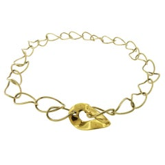 Pomelatto Curved Link Necklace