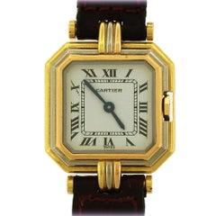Cartier Tricolor Ceinture Quartz Wristwatch