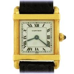Cartier Les Must Women's Chinoise Quartz Tank Wristwatch