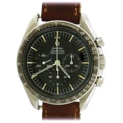 Omega Stainless Steel Pre-Moon Speedmaster Caliber 321 Wristwatch, circa 1966