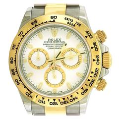 Rolex yellow gold stainless steel Daytona self-winding Wristwatch Ref 116503