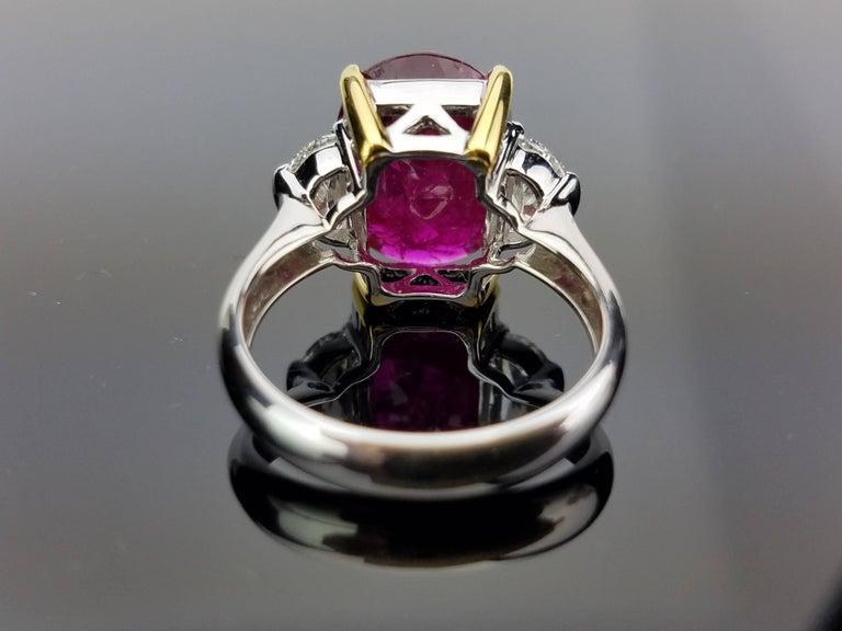 Gubelin Certified 8 00 Carat No Heat Burma Ruby Diamond