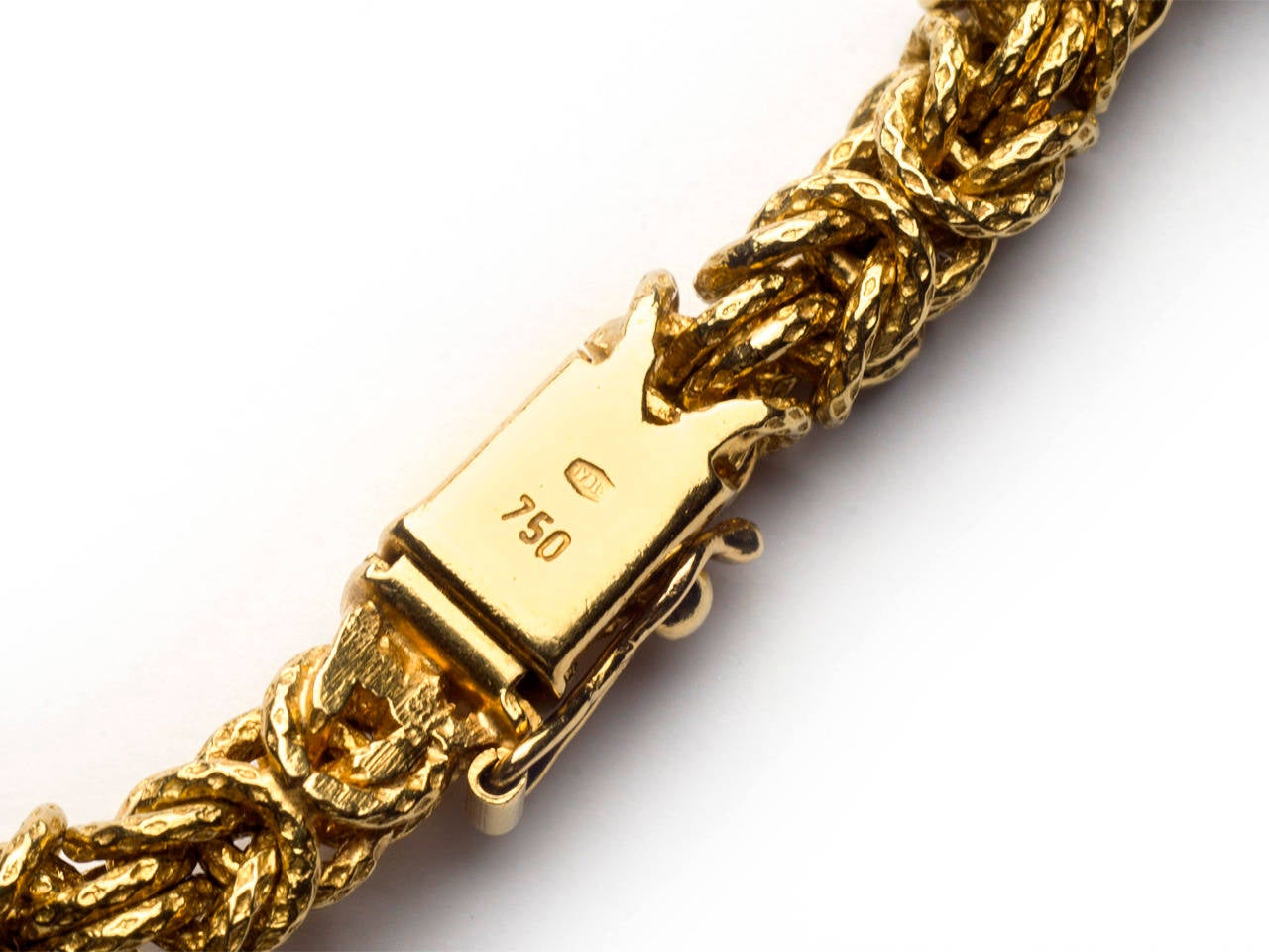 0e869ef86 ... Excellent Condition For Sale In San Antonio. Women's or Men's Tiffany &  Co. Gold Taurus Pendant Necklace For Sale