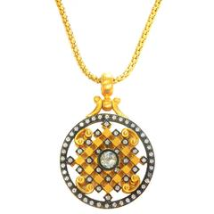 Diamond Gold Chain and Pendant