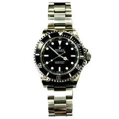 Rolex Stainless Steel Submariner Wristwatch Ref 14060M, 2002