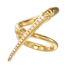 Latreia by Mana Matsuzaki  Keras Diamond Horn Unisex Ring