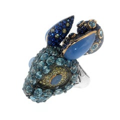 Wonderland Bunny Ring, a Zorab Creation