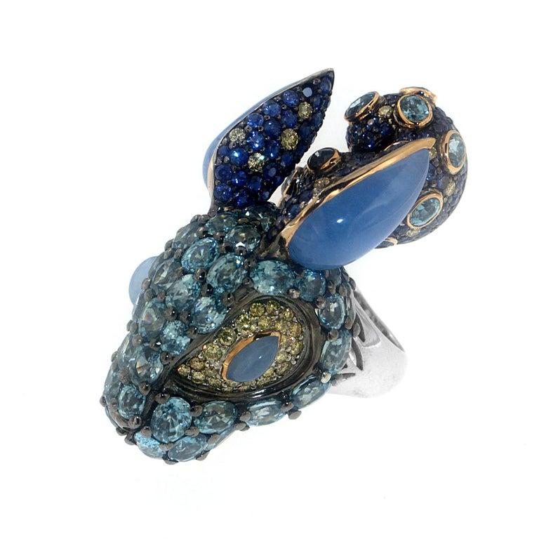 Wonderland Bunny Ring, a Zorab Creation