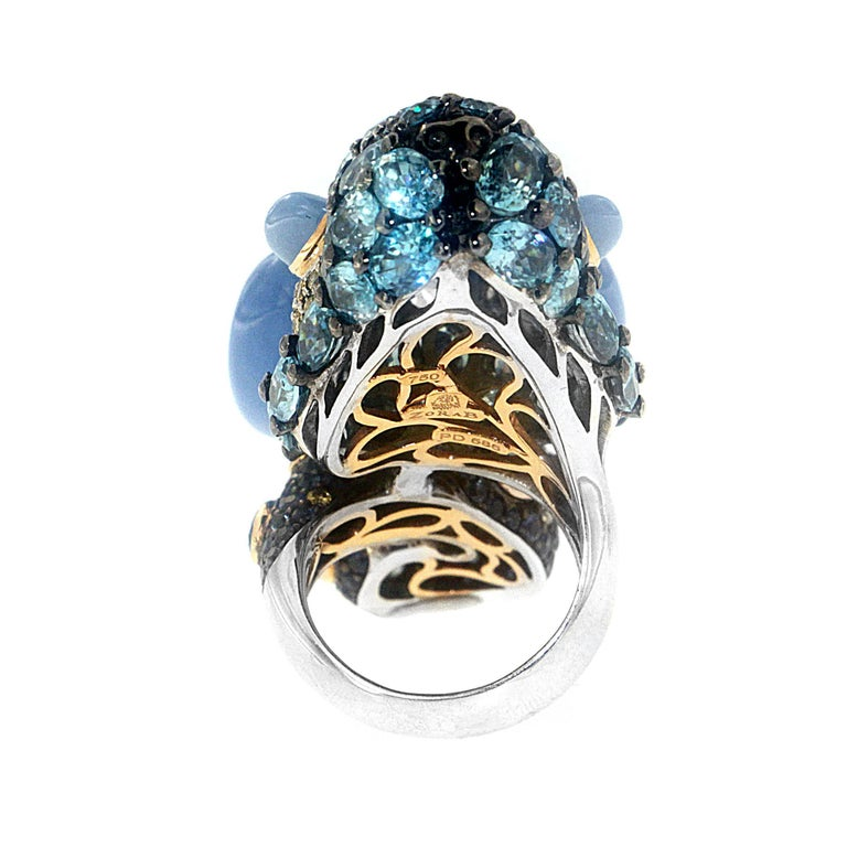 Women's or Men's Wonderland Bunny Ring, a Zorab Creation For Sale