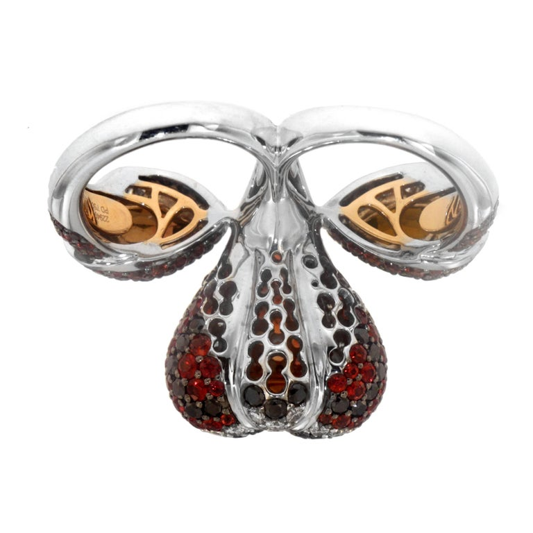 The Lions Lair Ring, a Zorab Creation In New Condition For Sale In San Diego, CA