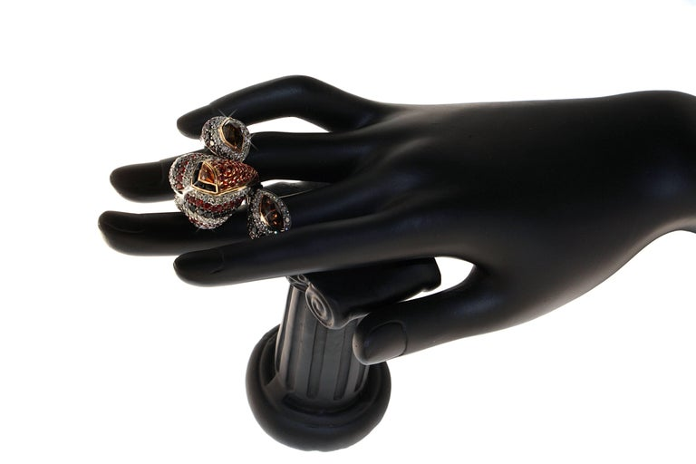Modern The Lions Lair Ring, a Zorab Creation For Sale