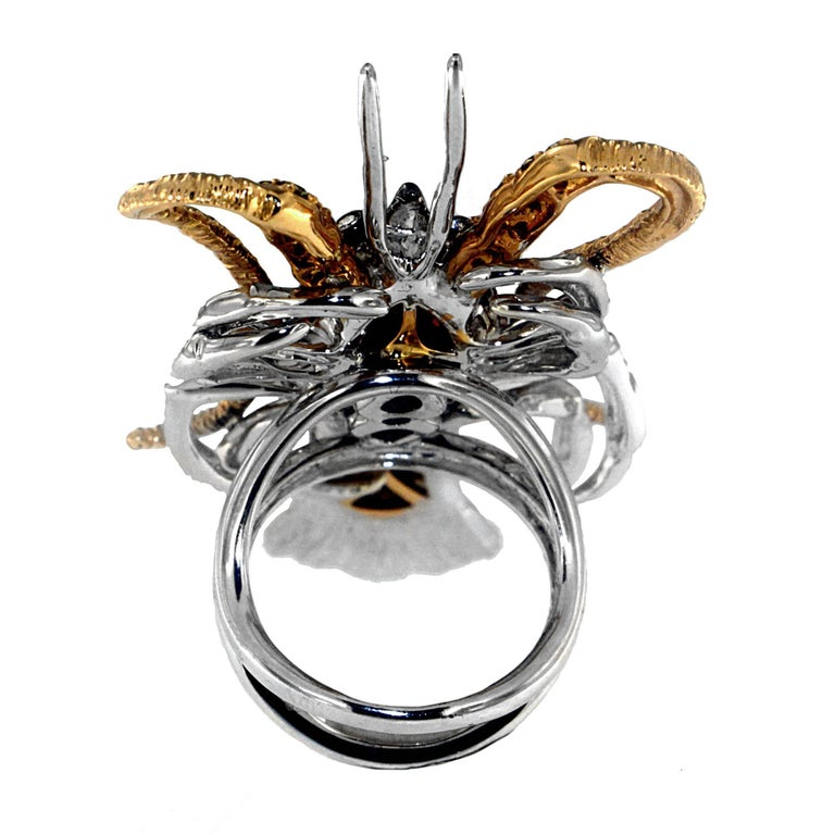 Luxe Lobster Ring, a Zorab Creation In New Condition For Sale In San Diego, CA