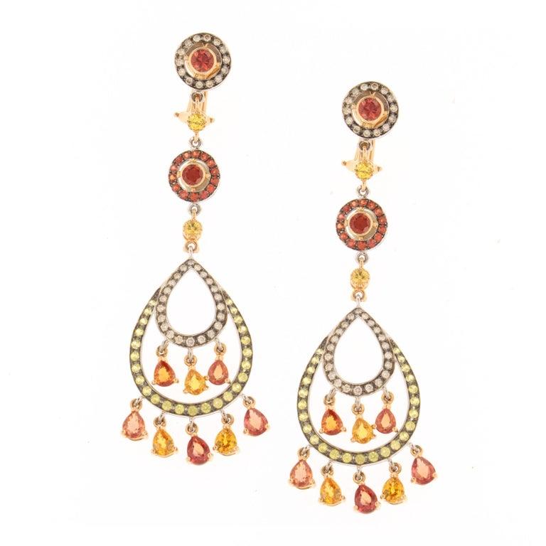 Feria Earrings, a Zorab Creation