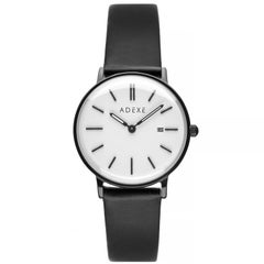 Adexe Stainless Steel Meek Black and White Japanese Quartz Wristwatch