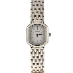 Tiffany & Co. Ladies White Gold 750 Quartz Cocktail Wristwatch