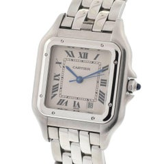 Cartier Stainless Steel Panthere Quartz Wristwatch Ref 1310
