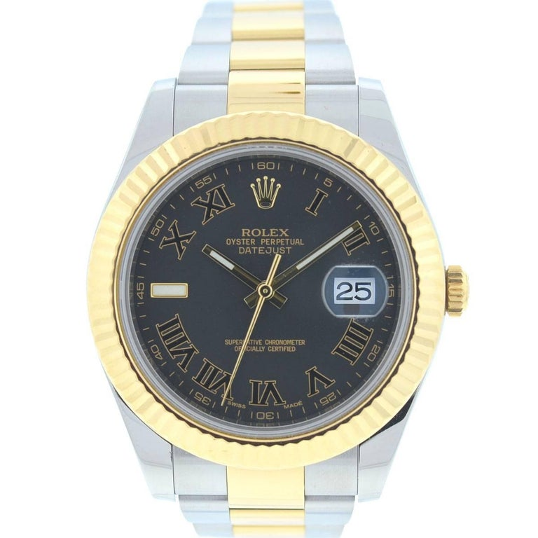Rolex 116333 Datejust II Two-Tone Gold and Stainless Steel Automatic Watch