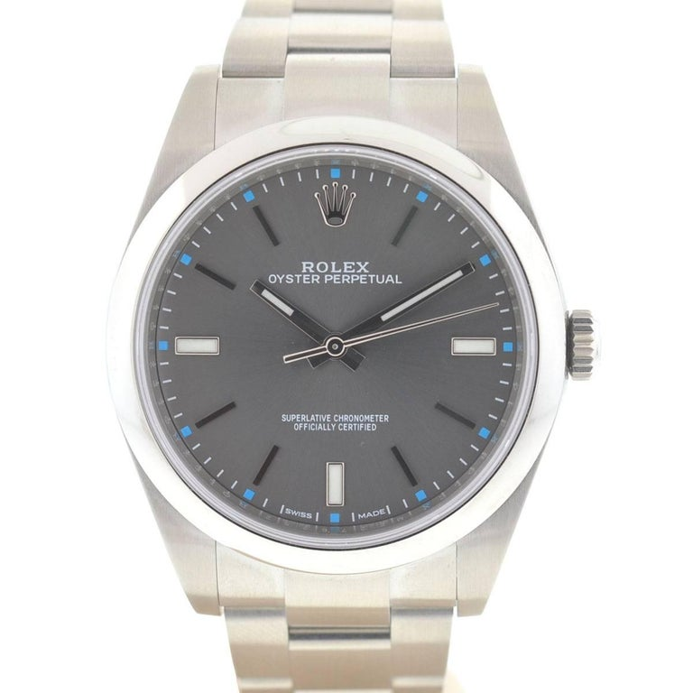 Rolex 114300 Oyster Perpetual Stainless Steel Automatic Watch