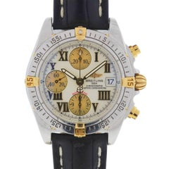Breitling B13358 Chronograph Cockpit Automatic Leather Strap Watch