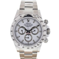 Rolex Stainless Steel Daytona Cosmograph Automatic Wristwatch Ref 116520