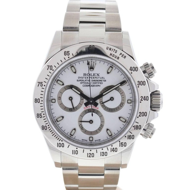 Rolex 116520 Daytona Cosmograph Stainless Steel Automatic Watch