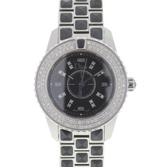 Christian Dior Christal CD112119 Diamond Bezel Ladies Watch