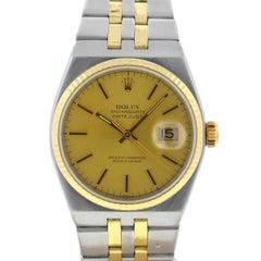 Rolex 17013 Datejust Two-Tone Champagne Dial Quartz Watch