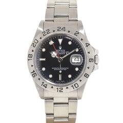 Rolex 16550 Explorer II Stainless Steel Watch