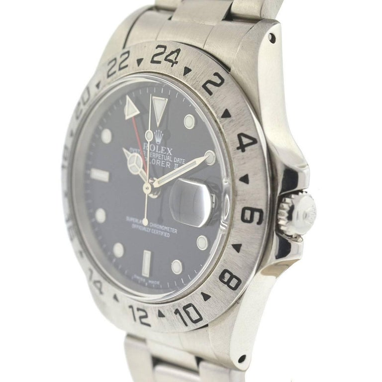 Company - Rolex Style - Dress/Formal Model - Explorer II Reference Number - 16550