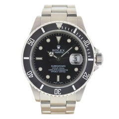 Rolex 16610 Submariner Black Dial K Series Automatic Watch