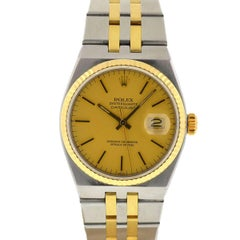 Rolex 17013 Oysterquartz Two-Tone Watch with Box and Papers