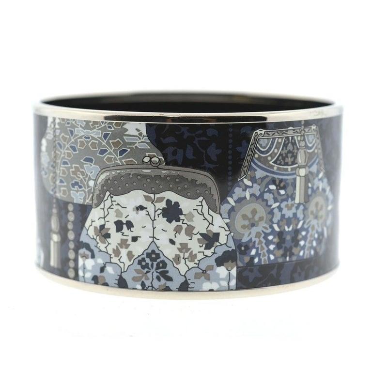 Hermès Multi-Color Extra Wide Bangle Bracelet