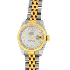 Rolex 179173 Datejust Mother-of-Pearl Diamond Dial Ladies Watch