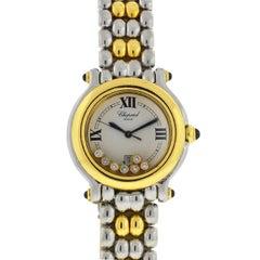 Chopard Happy Sport 7 Floating Diamonds 18 Karat Two-Tone 8237 Ladies Watch