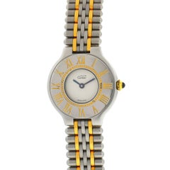 Cartier Must 21 Ladies Two-Tone Watch