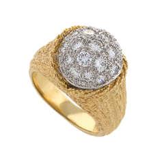 Tiffany & Co. Diamond Gold Ring