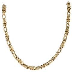 Piaget Late-20th Century Gold Link Necklace/Bracelet