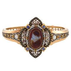 French Antique Renaissance Revival Cameo Bracelet