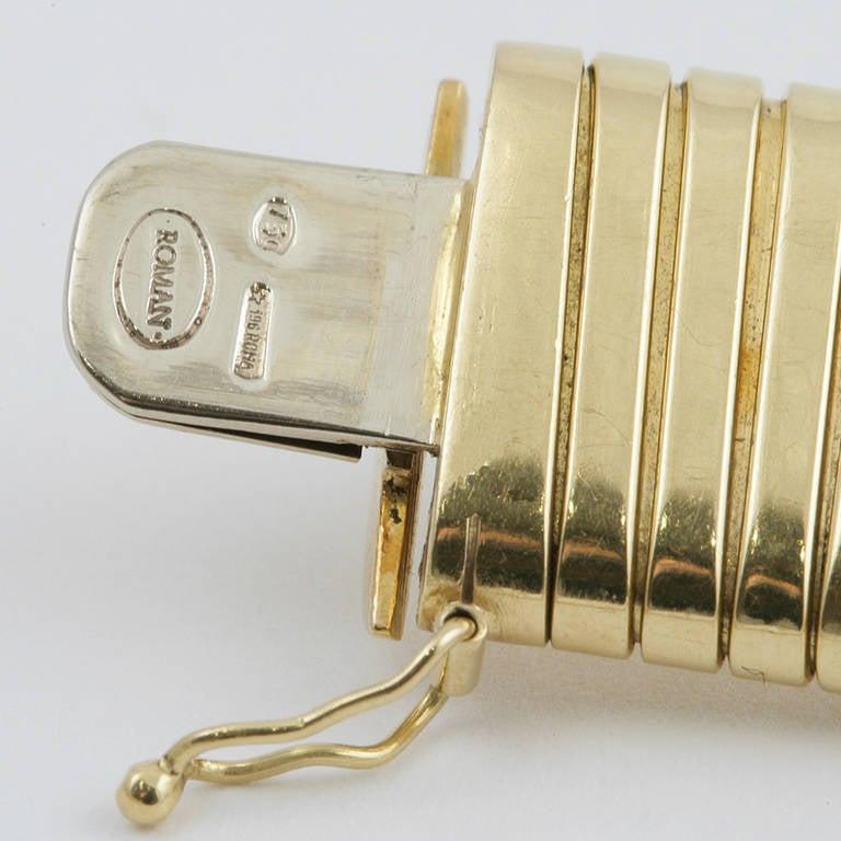 Italian Retro Gold Tubogas Necklace 3