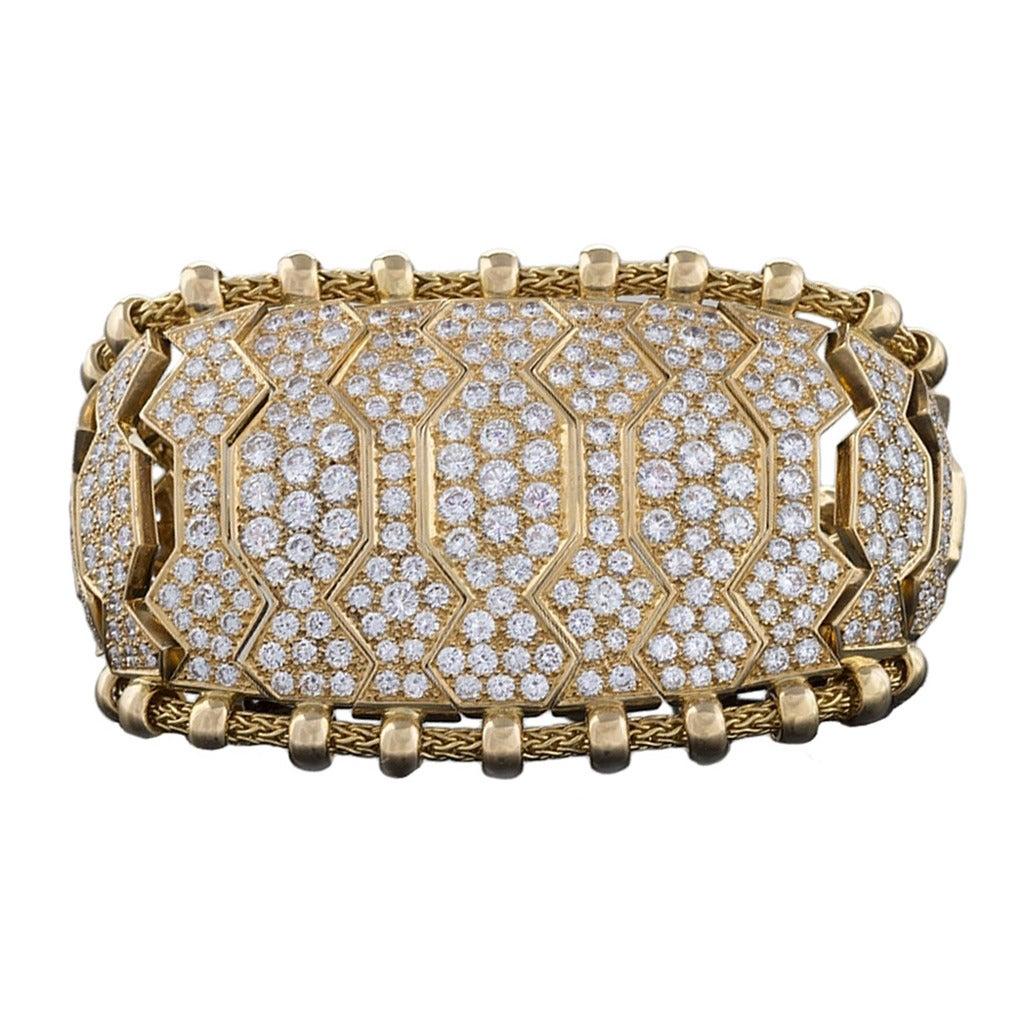 ren 233 boivin and gold hindu bracelet at 1stdibs