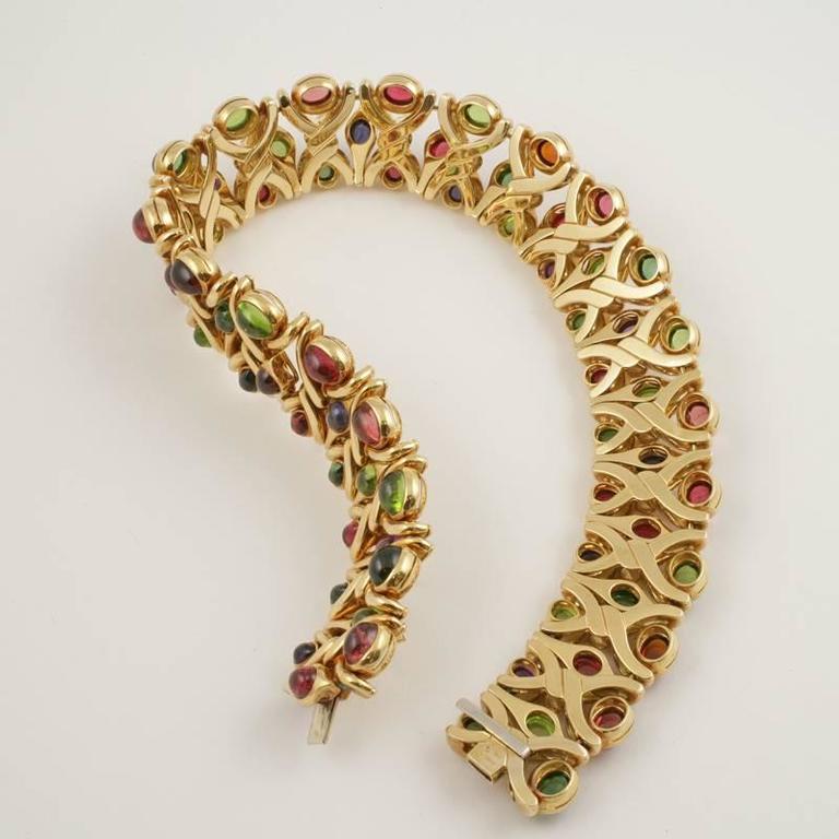 Bulgari 1980's Multi-gem Necklace 7