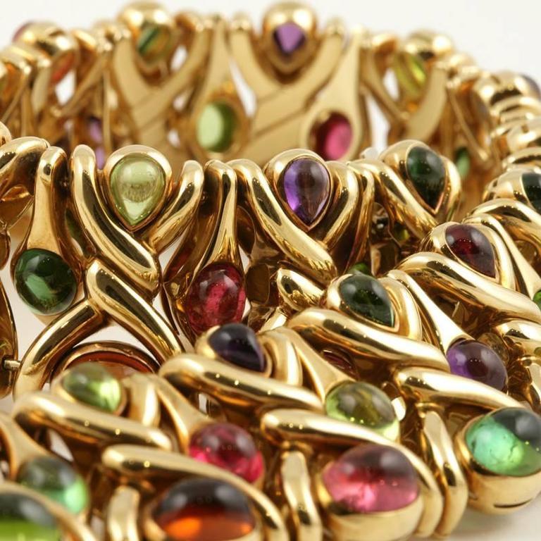 Bulgari 1980's Multi-gem Necklace 9
