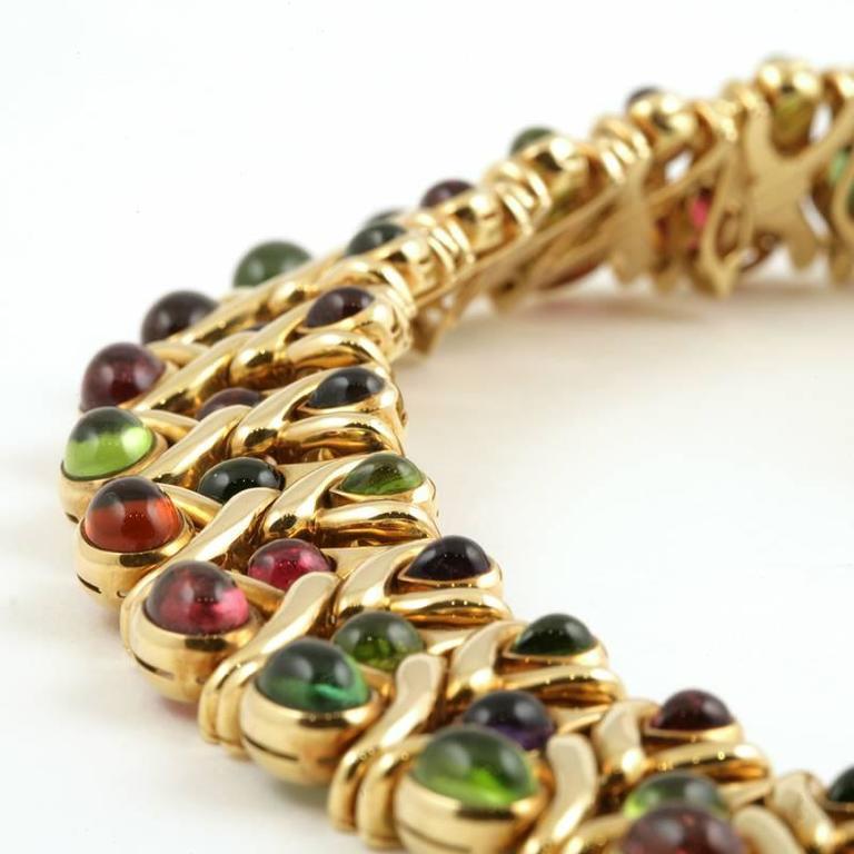 Bulgari 1980's Multi-gem Necklace 8